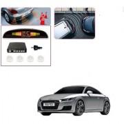 Auto Addict Car White Reverse Parking Sensor With LED Display For Audi TT