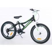 "Favorit bicikl Junior CASPER 200 20""/6 crna/zelena (650099)"