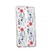 Husa pentru Lenovo K6 Note Silicon Slim Motive florale 155