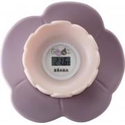 Lotus digitalni termometar za sobu i kupanje - pastelno roze