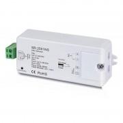Barcelona LED Régulateur unicolore PWM 12-36V-DC, 1 canal 8A, Contrôle RF, 1 zone de contrôle - Barcelona LED