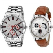 TRUE CHOICE NEW BRANDED 2 BEST GOOD LOOK MEN WATCHES WITH 6 MONTH WARRANTY
