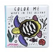 WEE GALLERY Livre de bain à colorier - Ocean