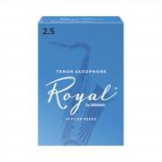 D'Addario Woodwinds Rico Royal 2,5 cajita con 10 cañas
