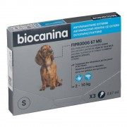 biocaninaFiprodogSolutionspot-onpourpetitschiens ml pipette(s)