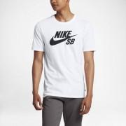 Nike T-shirt Nike SB Logo för män - Vit