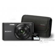 Aparat foto SONY DSC-W830, negru + 16GB SD + toc Sony