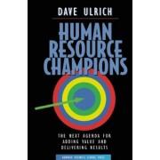 Human Resource Champions, Hardcover