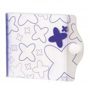Hama Memory Card Case Blauw/Wit SD