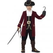 Costum capitan pirat 7-9 ani