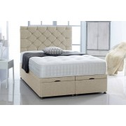 Serene Living From £349 (from Serene Living) for a chenille ottoman bed with headboard and mattress - choose from five sizes and three colours