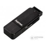 Hama USB 3.0 SD/microSD čitač kartica, crni (123901)