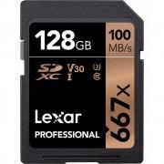 Lexar SDXC Professional 667X 128GB UHS-I U3 V30,100MB/s