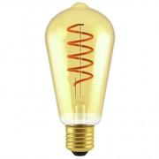 GP LED lamp E27 5W 250Lm ST64 vintage gold 085256