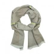 Gebreide print sjaal