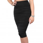 body by olcay Gathered Skirt