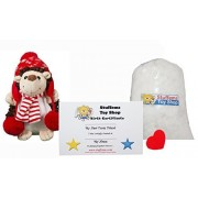 Make Your Own Stuffed Animal Mini 8 Inch Holly the Hedgehog Kit - No Sewing Required!