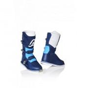 ACERBIS Stivali Motocross Bambino X-Kid Azzurro-Blu 32