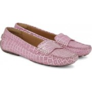 Clarks Dunbar Grandby Women Loafers For Women(Pink)