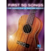 First 50 Songs You Should Play on Baritone Ukulele, Paperback/Hal Leonard Corp