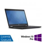 "Laptop Refurbished Dell Latitude E5250 (Procesor Intel® Core™ i5-5300U (3M Cache, up to 2.90 GHz), Broadwell, 13"" HD, 16GB, 500GB HDD, Intel® HD Graphics 5500, Win10 Pro, Negru)"