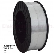 Huzalelektróda AlSi5 1.2mm/7kg (300mm)