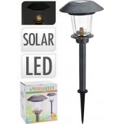 ProGarden Lampa solární zahradní LED světlo nerez 52 cm
