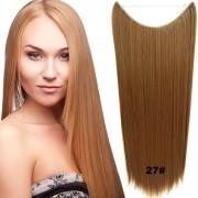 Flip in vlasy - 60 cm dlouhý pás vlasů - odstín 27 - Světové Zboží