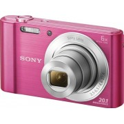 Sony Cyber-shot DSC-W810 - Digitale camera - compact - 20.1 MP - 720p - 6x optische zoom - roze