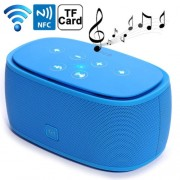Mini NFC Bluetooth 3D Incredible Smart Speaker with MP3 Function Support Hands-free Call / TF Card(Blue)