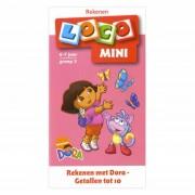 Lobbes Mini Loco Boekje Rekenen met Dora Getallen tot 10 (6-7)