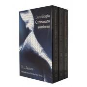 Trilogia Cincuenta Sombras: Cincuenta Sombra de Grey; Cincuenta Sombras Mas Oscuras Cincuenta Sombras Liberadas 3- Volume Boxed Set, Paperback