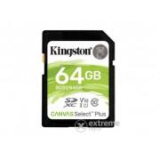 Card memorie Kingston Canvas Select Plus 64GB SDXC class 10, UHS-I, U1, V10