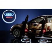 Led Лого за врати на автомобил Audi