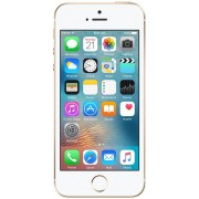 "Telefon Mobil Apple iPhone SE, Procesor Dual-Core 1.8GHz, LED‑backlit widescreen Retina display Capacitive touchscreen 4"", 2GB RAM, 32GB Flash, 12MP, 4G, Wi-Fi, iOS (Auriu) + Cartela SIM Orange PrePay, 6 euro credit, 4 GB internet 4G, 2,000 minute nationa"