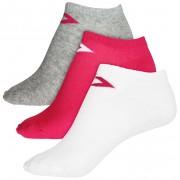 Converse Set de șosete 3 buc. Converse Basic Women low cut, flat knit Pink/White/Lt Grey 39-42