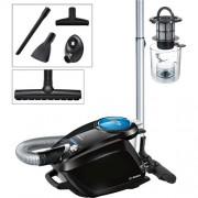 Bezsáčkový vysávač Bosch Haushalt BGS5SMRT66 Relaxx'x ProSilence66, čierna, modrá