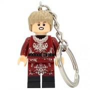 Generic Game of Thrones Jon Snow Daenerys Tyrion Lannister Figure Keychain Keys Stark Khal Drogo Ring Chain Building Blocks Toys 421 Joffrey