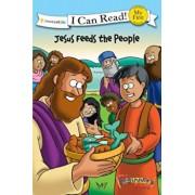 The Beginner's Bible Jesus Feeds the People, Paperback/Zondervan