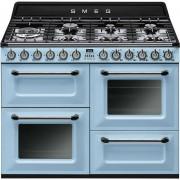 SMEG Tr4110az Cucina 110x60 7 Fuochi A Gas Doppio Forno 122 Litri Classe A Color