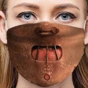 HANNIBAL LECTER - Ochranná maska na tvár 100% polyester