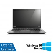 Laptop Refurbished Lenovo ThinkPad X1 CARBON (Procesor Intel® Core™ i5-3427U (3M Cache, up to 2.80 GHz), 8GB DDR3, 120GB SSD, 14 Inch, Intel® HD Graphics 4000, Win 10 Home)