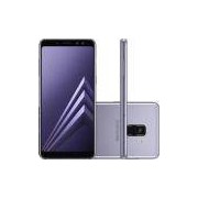 Smartphone Samsung Galaxy A8 Plus Dual Chip Android 7. 1 Tela 6 Octacore 2. 2ghz 64gb 4g 16mp Ametista