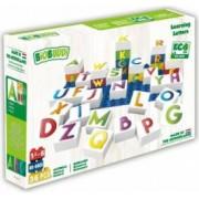 Set de constructie BioBuddi Lumea literelor varsta recomandata 1,5 - 6 ani Multicolor
