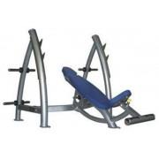 Banca olimpica inclinata Dayu Fitness DY-HL-202 (Albastru/Argintiu)