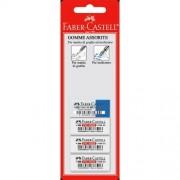Faber-Castell Conf. 3+1 Gomma Cancellatura Per Grafite E Inchiostro