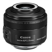 Canon EF-S Obiettivo 35mm f/2.8 Macro IS STM, Nero