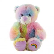 Cuddles and Friends Pastel Rainbow Teddy Bear 10 (25Cm) Stuff Build Your Own Kit No Sewing by Be My