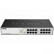 Суич D-Link DGS-1016D/E, 16 портов 10/100/1000, Desktop, D-LINK-DGS-1016D