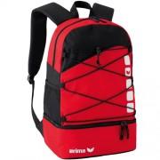erima Multifunktions-Rucksack 5-CUBES - rot/schwarz